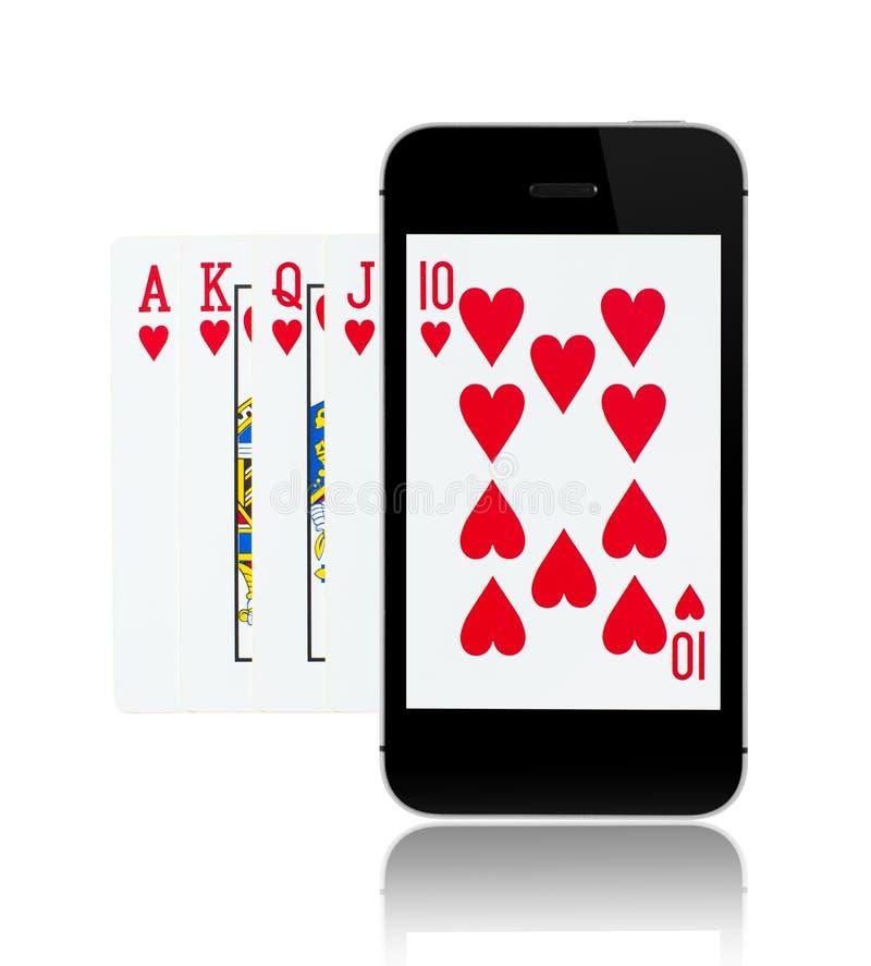 Jogos onlines fotografia de stock royalty free