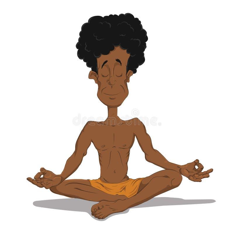 Jogowie w medytaci obraz stock