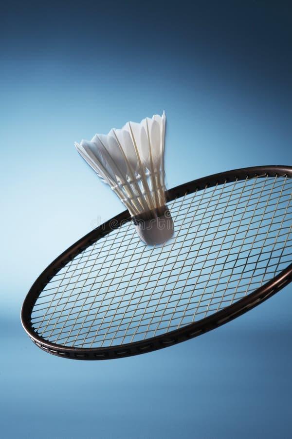 Jogue memória do Badminton do ? da raquete e do Shuttlecock de Badminton fotos de stock royalty free