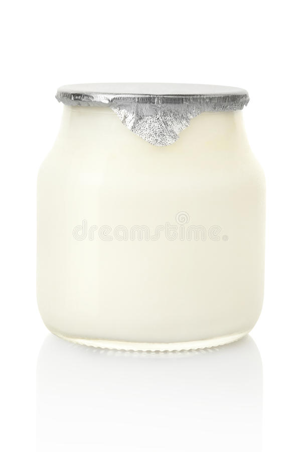 jogurt obraz royalty free