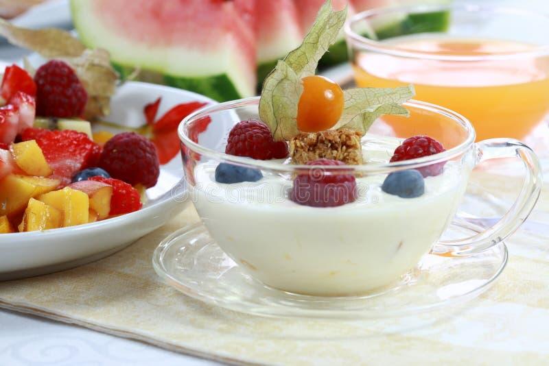 jogurt owoców obrazy royalty free