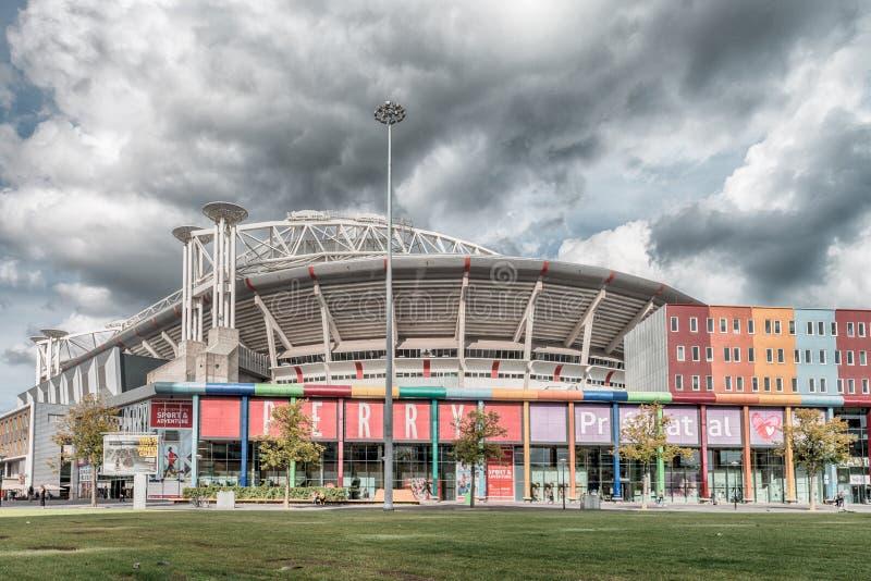 Johan Cruijff ArenA Früher als Amsterdam ArenA bekannt Arenapark, Fußballstadion stockfotos