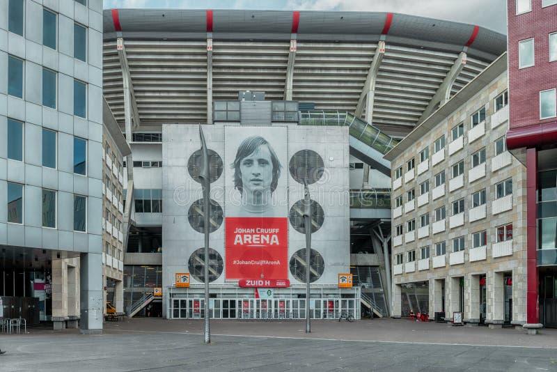 Johan Cruijff ArenA Früher als Amsterdam ArenA bekannt Arenapark, Fußballstadion stockfoto