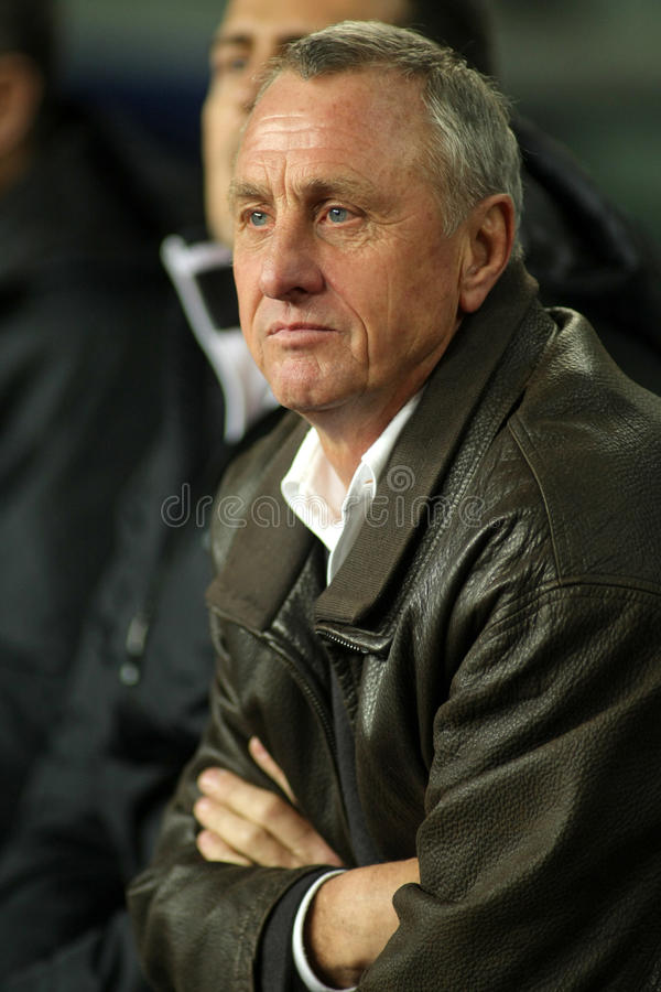 Johan Cruyff royalty free stock images