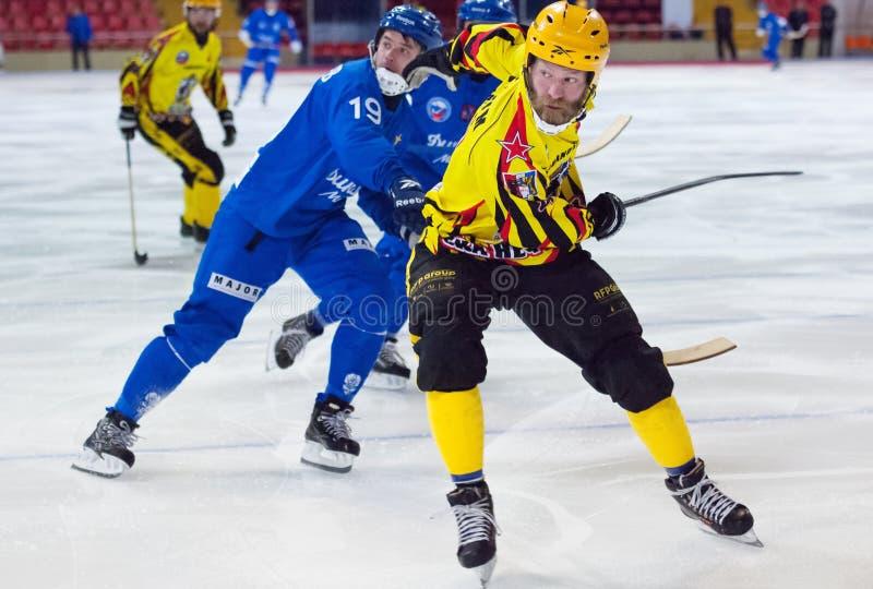 Johan Estblom (4) in action stock photo