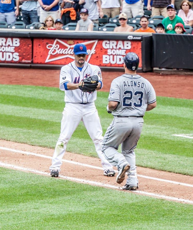Johan Santana van NY Mets royalty-vrije stock afbeeldingen