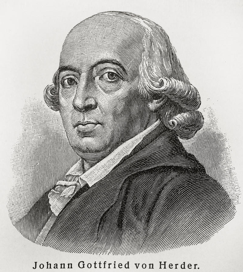 Download Johann Gottfried Herder editorial stock image. Image of drawing - 20475239
