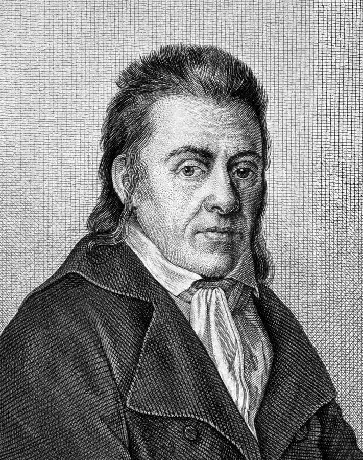 Johann Heinrich Pestalozzi zdjęcie stock
