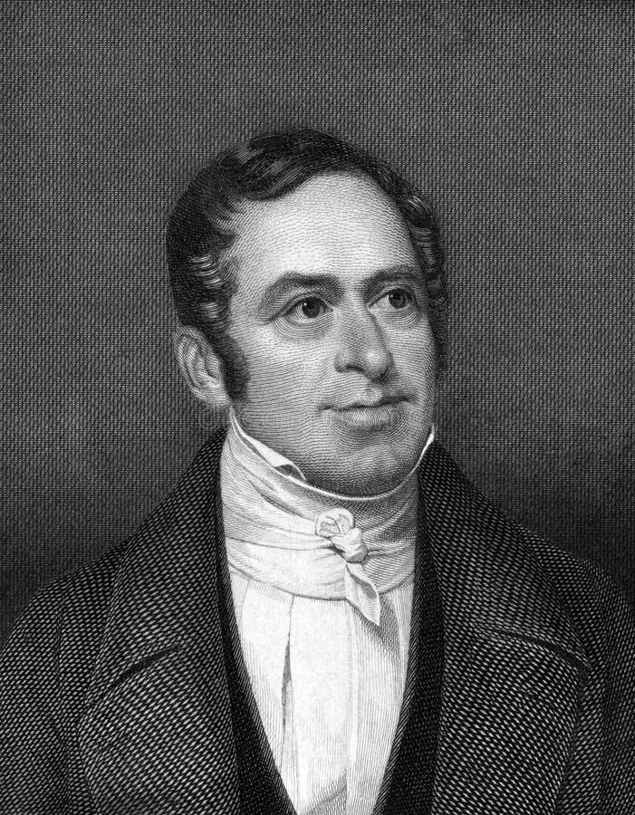 Johann Lukas Schonlein stock afbeelding