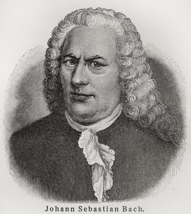 Johann Sebastian Bach fotos de archivo