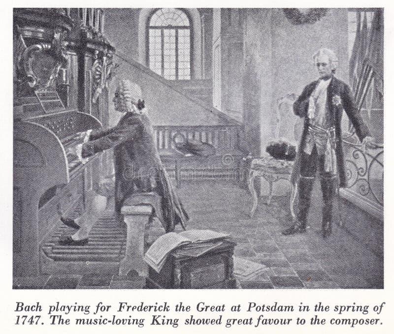 Johann Sebastian Bach Composer, compositor alemão do século 18/19 imagens de stock royalty free