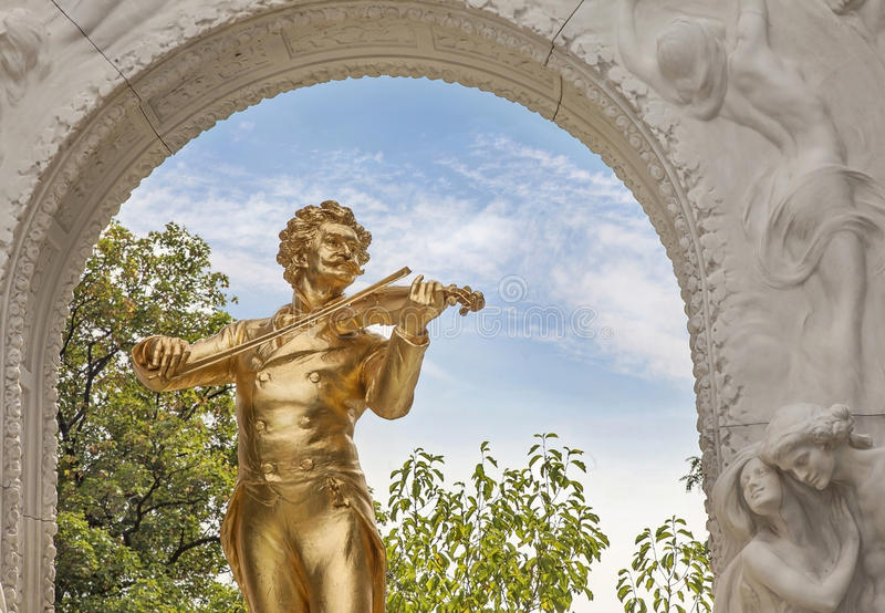 Johann Strauss royalty-vrije stock fotografie