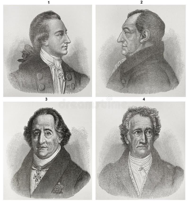 Johann Wolfgang Von Goethe libre illustration