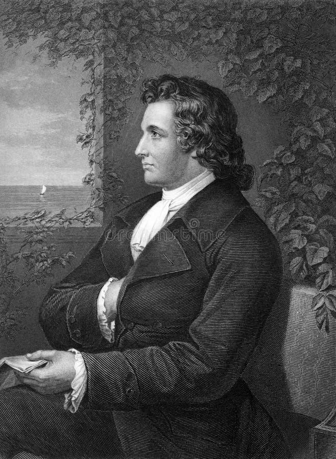 Johann Wolfgang Von Goethe immagini stock