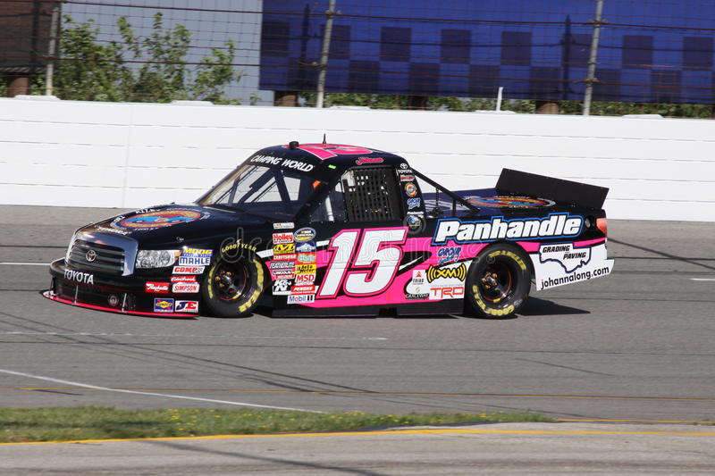 Johanna Long NASCAR Truck Series Qualifying ORP 15