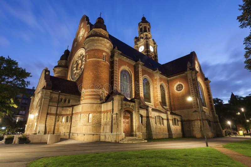 Johannes Church i Malmo royaltyfri bild