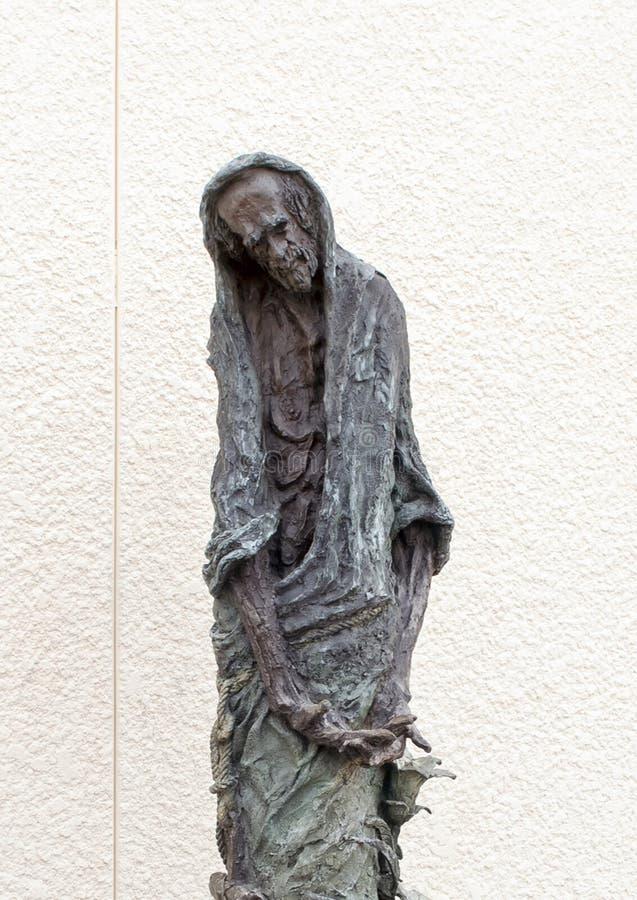?Johannes der T?ufer ?durch Gib Singleton au?erhalb des Museums der biblischen Kunst in Dallas, Texas lizenzfreie stockfotos