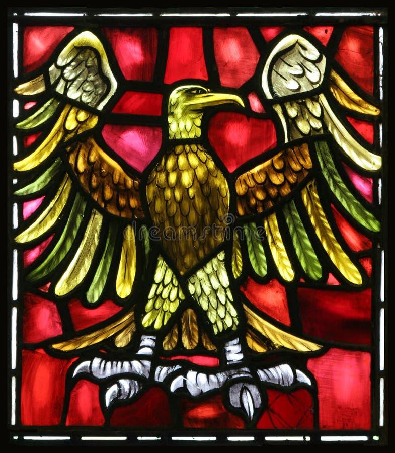 Johannes evangelisches Symbol, der Adler lizenzfreie stockbilder