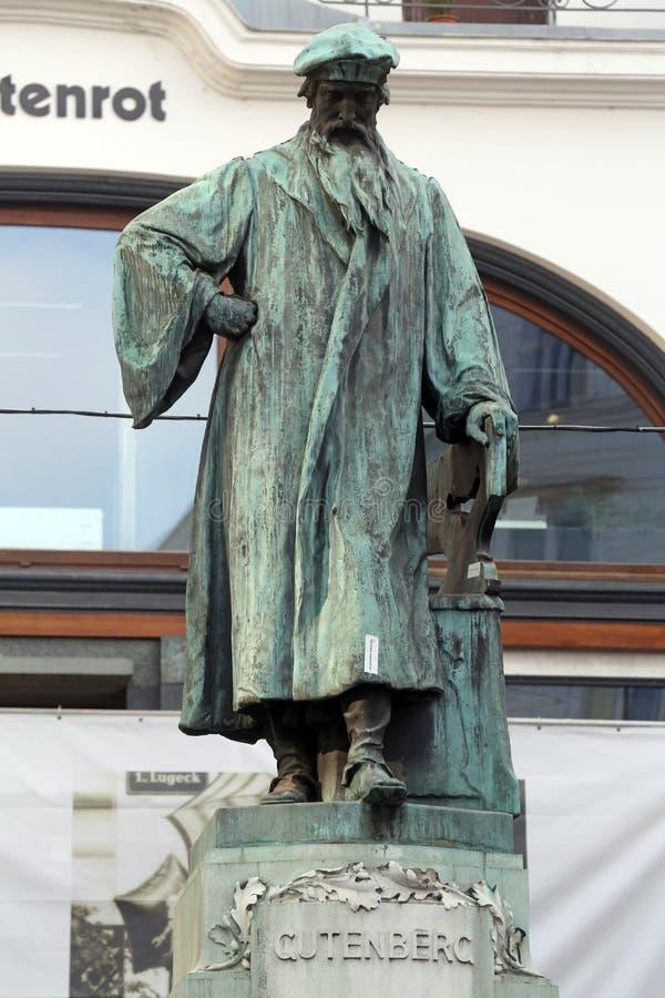Johannes Gutenberg royalty-vrije stock foto's