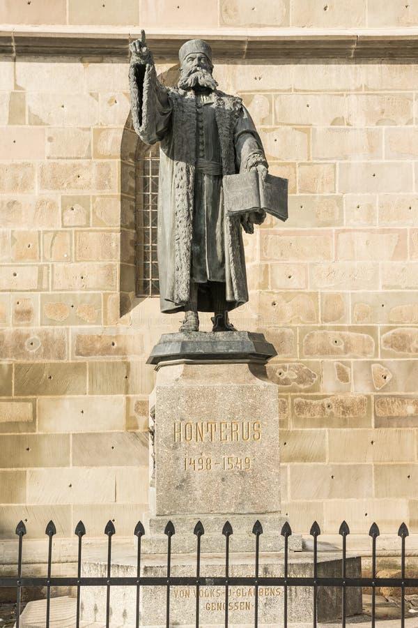 Johannes Honterus royaltyfri bild