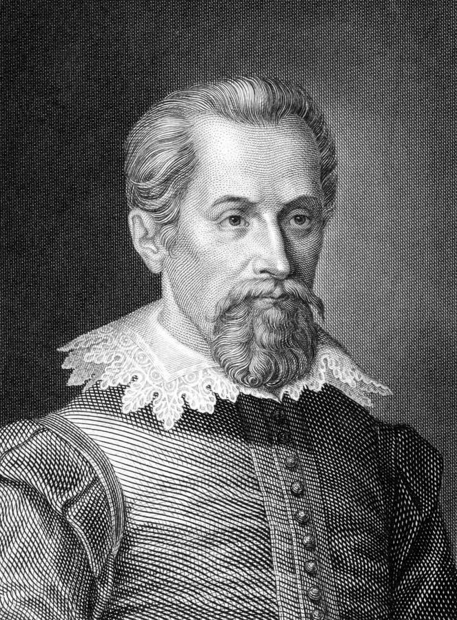 Johannes Kepler fotografia de stock