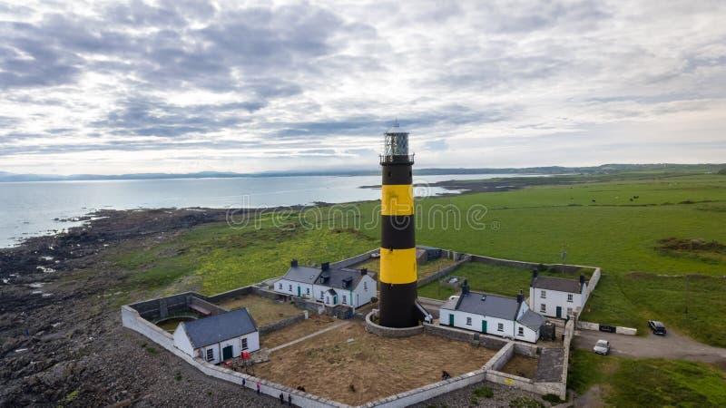 Johannes Punkt-Leuchtturm Grafschaft unten Nordirland lizenzfreies stockfoto