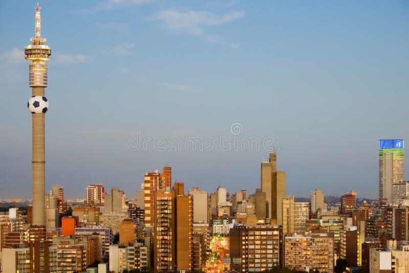 Johannesburg, Afrique du Sud - serveur 2010 de coupe du monde C image libre de droits