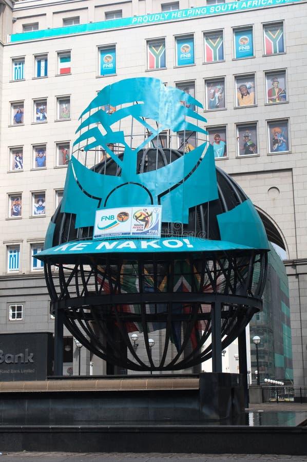 Johannesburg betriebsbereit zum Weltcup stockfoto
