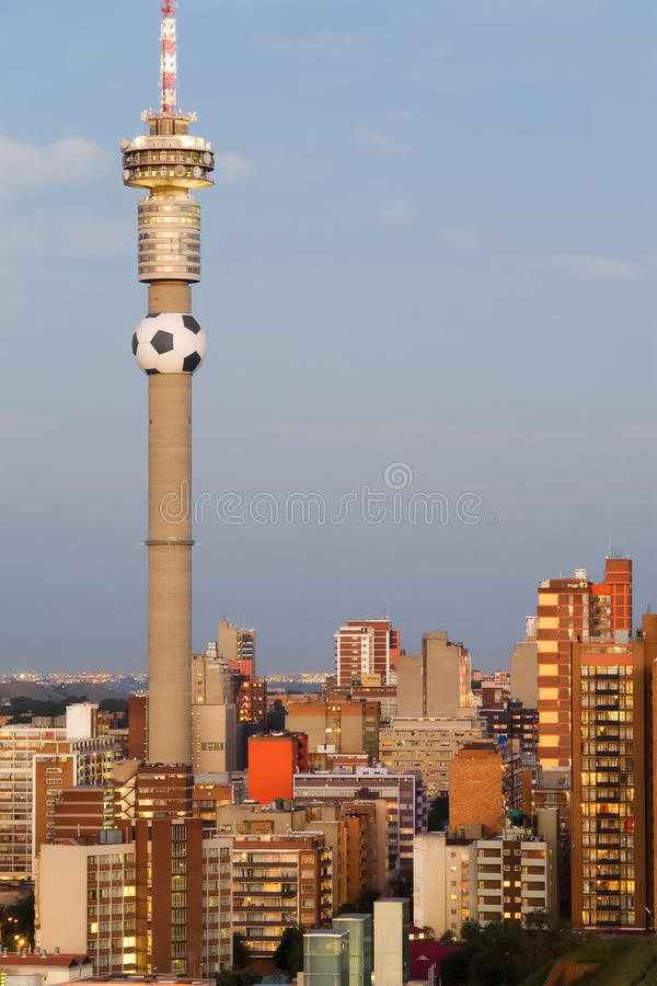 Johannesburg, Südafrika - 2010 Weltcup-Hauptrechner C lizenzfreies stockbild