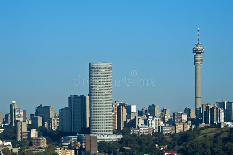 Johannesburg skyline royalty free stock photography