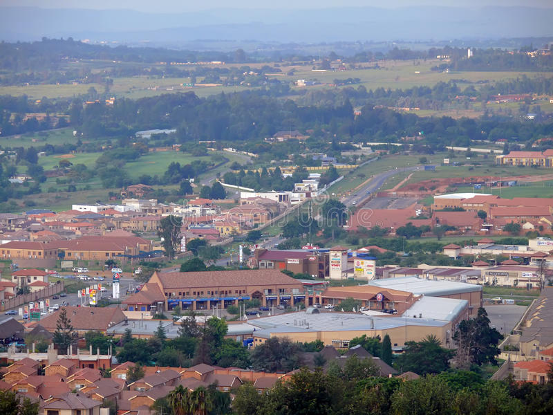 Johannesburg, South Africa - 16 December 2008: City life. royalty free stock images