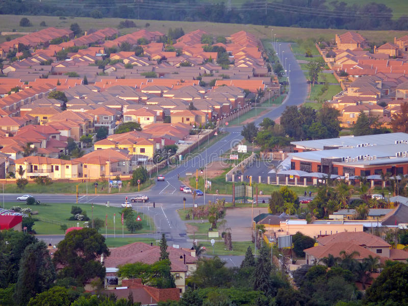 Johannesburg, South Africa - 16 December 2008: City life. royalty free stock image