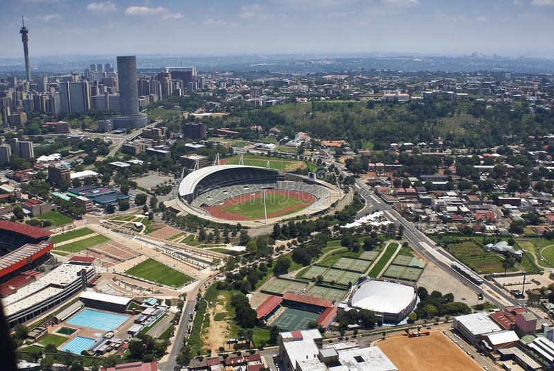 Download Johannesburg Stadium - Aerial View Editorial Photography - Image: 14239142