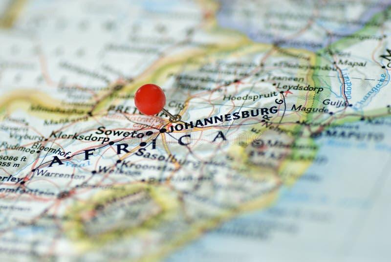 Johannesburg Zuid-Afrika stock afbeelding