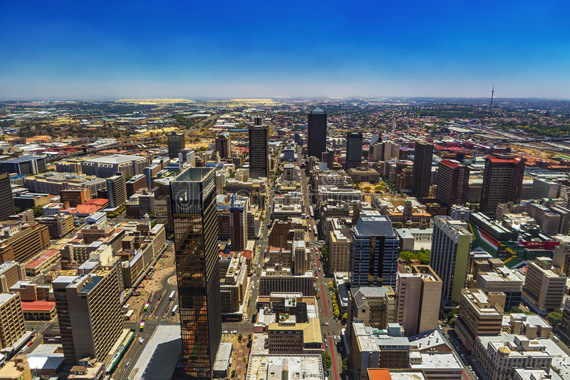 Johannesburg, Zuid-Afrika royalty-vrije stock foto's