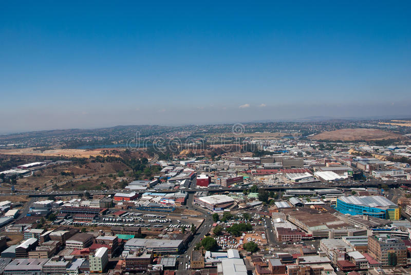 Johannesburgo central imagen de archivo libre de regalías