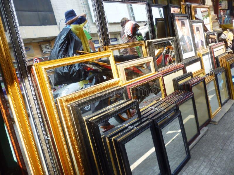 Johar traditionele markt stock foto