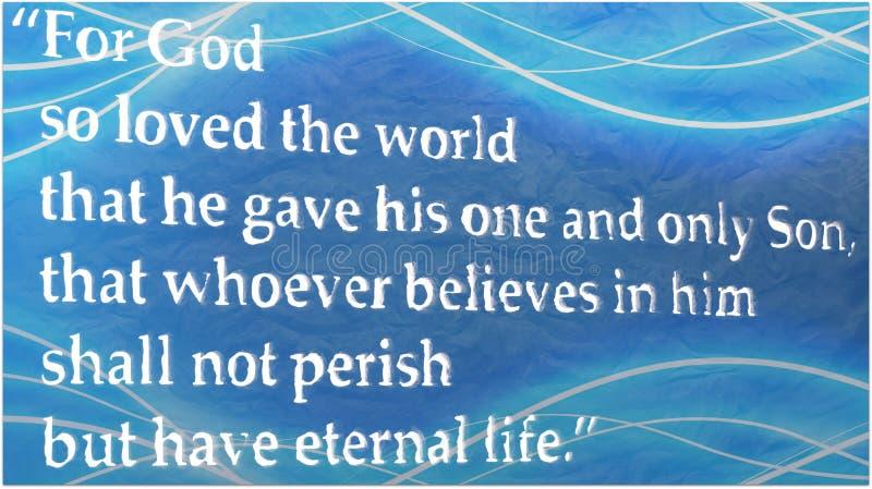 John-3:16 lizenzfreies stockfoto