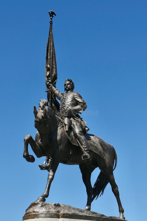 John Alexander Logan Monument arkivbilder