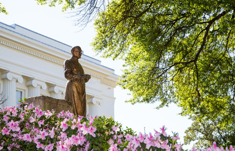 John Allan Wyeth Statue arkivbilder
