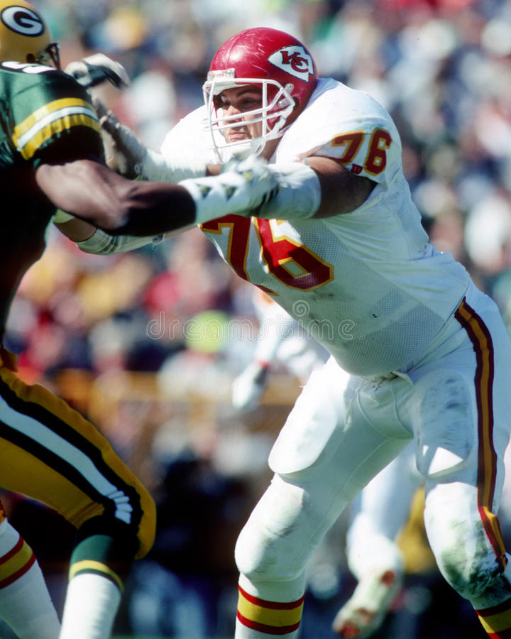 John Alt. Kansas City Chiefs star John Alt, #76. (Image taken from b&w negative stock photography