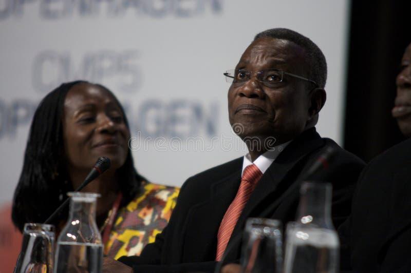 John Atta mahlt Präsidenten von Ghana stockbilder