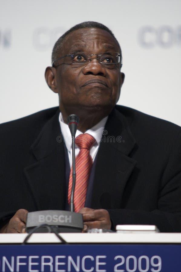 John Atta mal president av Ghana royaltyfri foto