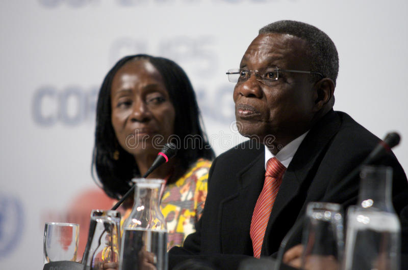 John Atta Mills President of Ghana royalty free stock images