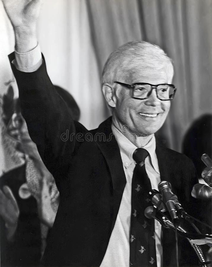 John B. Anderson Runs for President stock photos