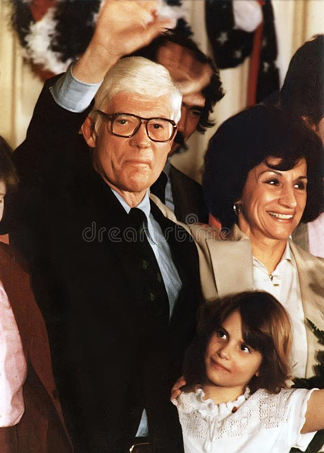 John B. Anderson Runs for President royalty free stock photo