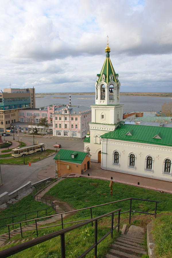 Download John the Baptist church stock image. Image of nizhnij - 16784965