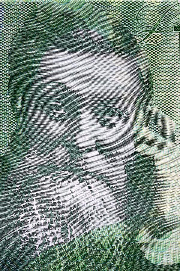 John Boyd Dunlop een portret stock foto's