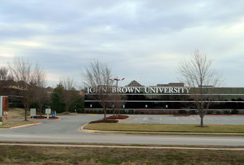 John Brown University, Rogers, Arkansas, Arkansas del noroeste foto de archivo