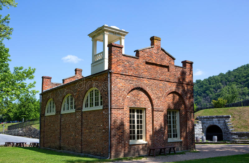 John Browns Fort Harpers Ferry stock images